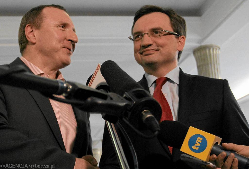 Jacek Kurski, Zbigniew Ziobro