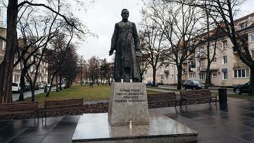 GPomnik kapelana  Solidarnosci ' ksiedza Henryka Jankowskiego w Gdansku