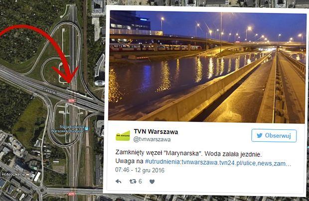 Węzeł Marynarska w Warszawie