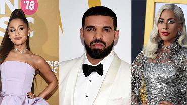 Ariana Grande, Drake i Lady Gaga