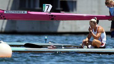 Marta Walczykiewicz po finałowym biegu na 200 m w Tokio