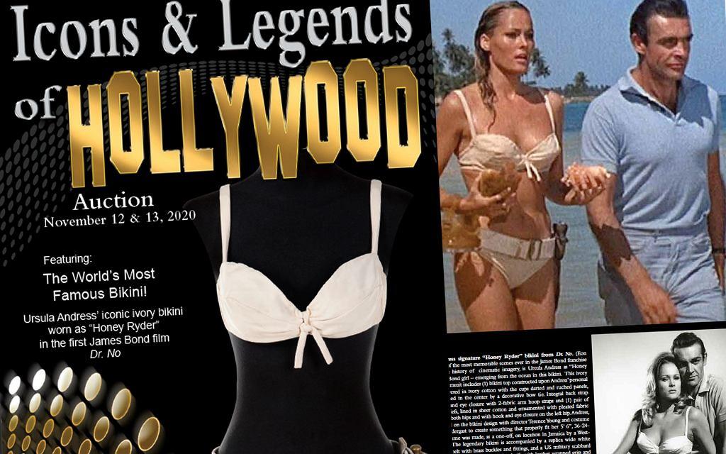 Na aukcję trafi bikini z filmu o Jamesie Bondzie