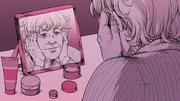 Objawy menopauzy pojawiają się nagle. Ale na to, jak wyglądamy, pracujemy całe życie