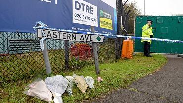 Mieszkańcy uczcili pamięć 39 osób, których ciała znaleziono w ciężarowce w Essex