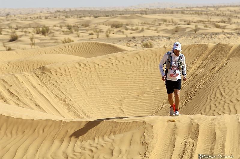 Rafael Badziag na pustyni