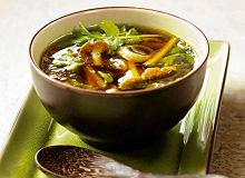 Orientalna zupa z grzybów leśnych - ugotuj