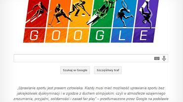Olimpijski Google Doodle
