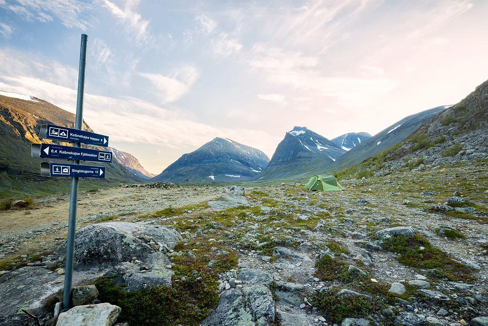 Kebnekaise to najwyższy szczyt w Szwecji i popularne miejsce wśród turystów