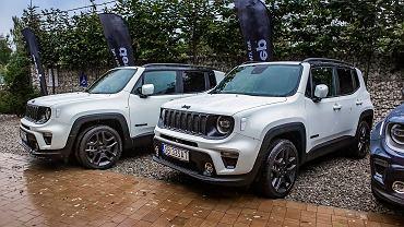 Polska prezentacja Jeepów Renegade oraz Compass 4xe