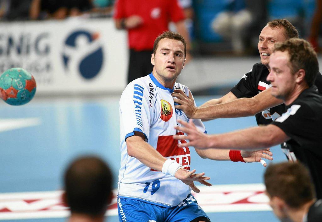 Mecz Orlen Wisła Płock - Górnik Zabrze w 2013 r.