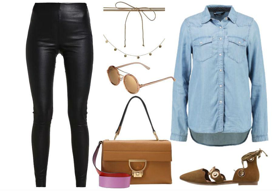 2e0998e8 Skórzane spodnie - jesienny zamiennik jeansów
