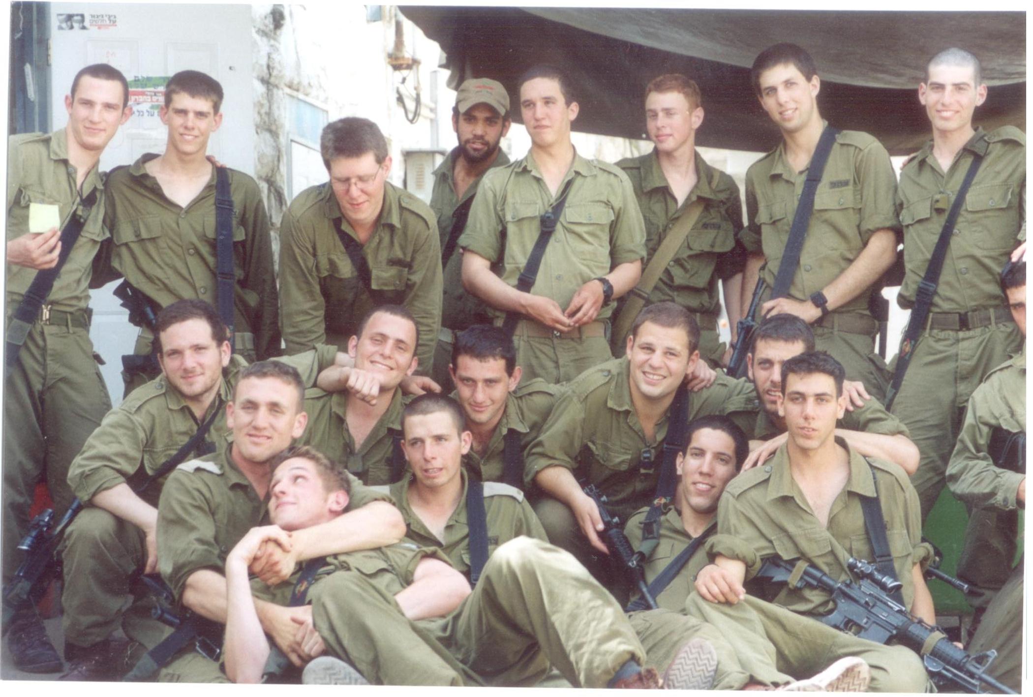 Żołnierze (fot. Jehuda Szaul)