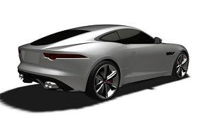 Szkice patentowe nowego Jaguara F-Type Coupe