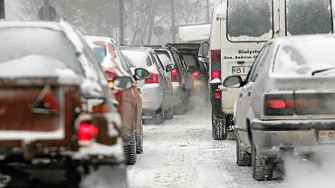 Wypadek i karambol na autostradzie A1. Liczne utrudnienia w ruchu drogowym