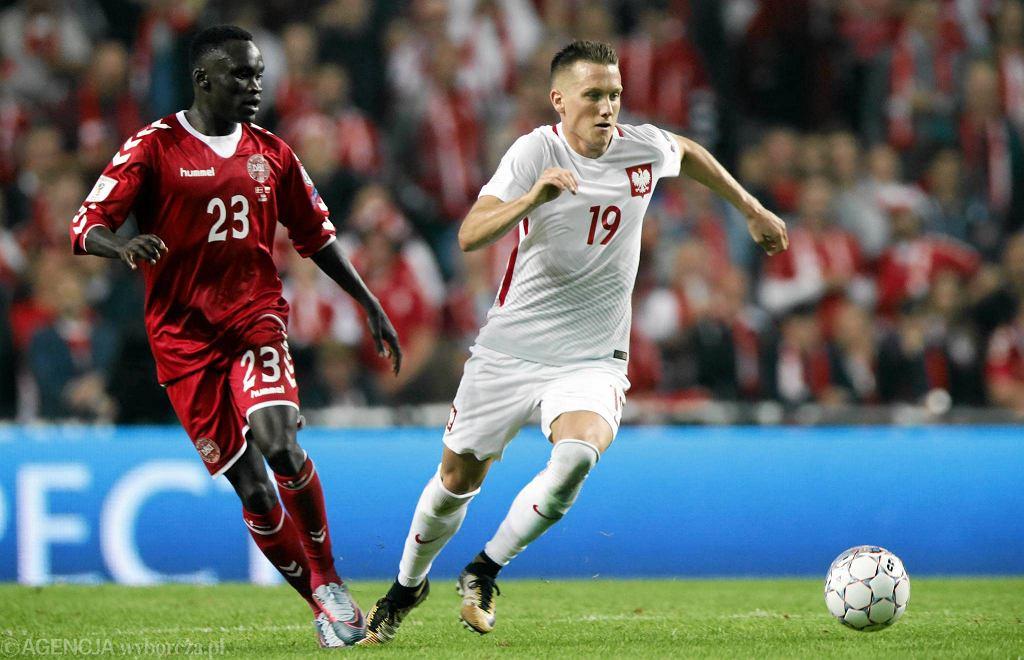 Dania - Polska 4:0. Piotr Zieliński