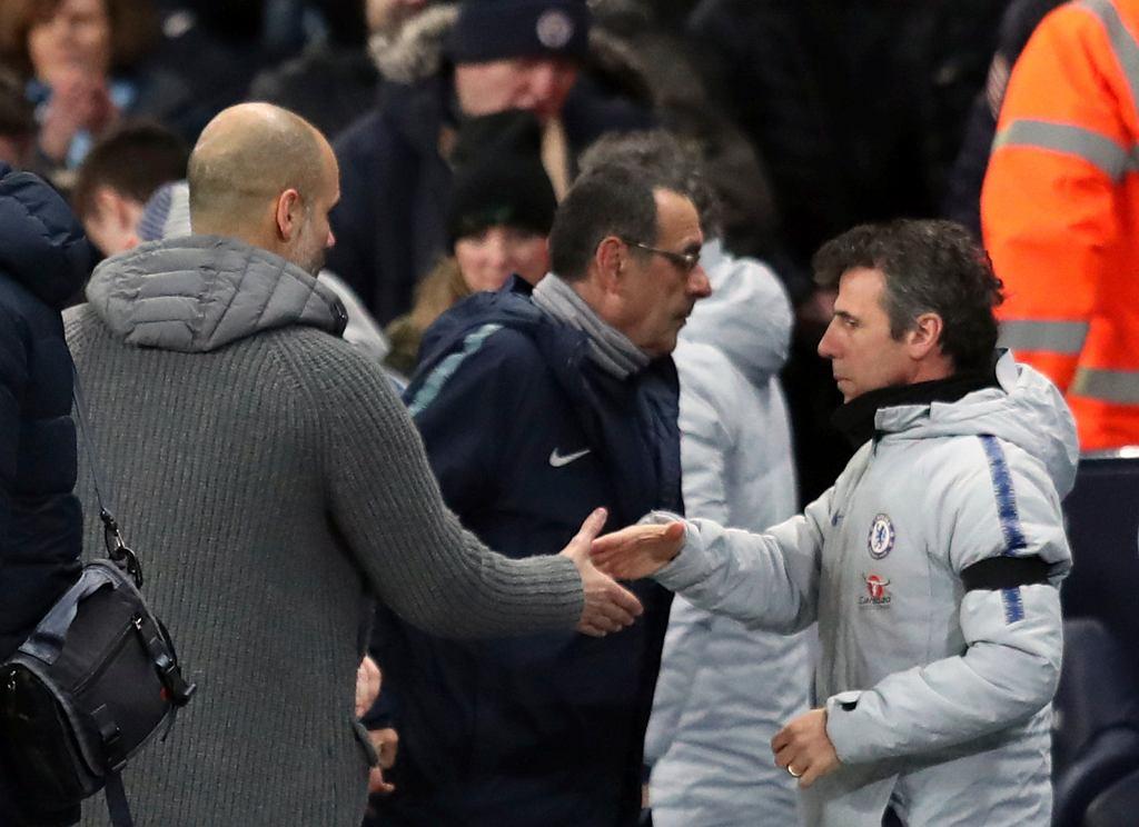 Manchester City - Chelsea. Maruzio Sarii o Guardioli i swojej przyszłości w klubie