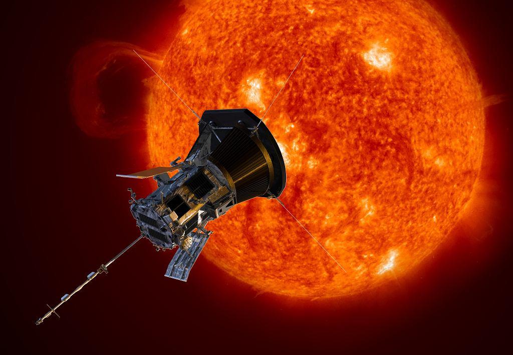 Parker Solar Probe - wizja artysty