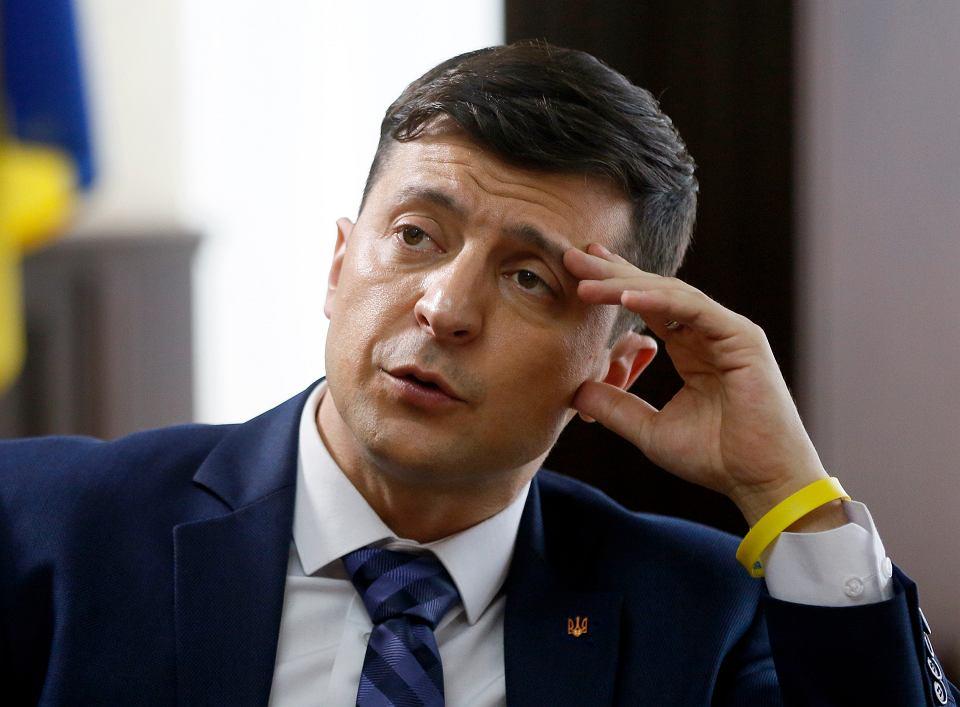 Faworytem wyborów prezydenckich na Ukrainie stał się nieoczekiwanie Wołodymyr Zełenskij, aktor telewizyjnego serialu 'Sługa narodu'.