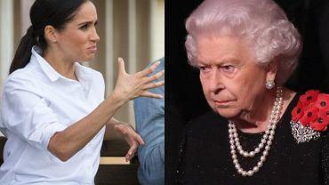 Meghan Markle przed ślubem z księciem Harrym wpadła w furię. Królewski ekspert: Zachowanie primadonny spotkało się z naganą ze strony królowej