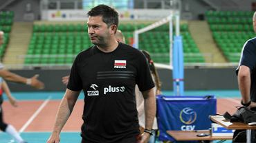 Trener Piotr Makowski