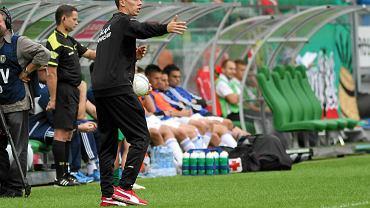 Trener Paweł Barylski
