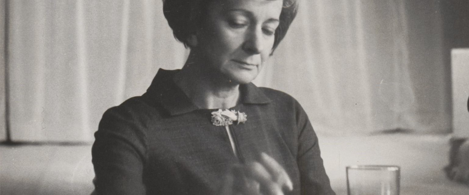 Wisława Szymborska (fot. Z archiwum Fundacji Wisławy Szymborskiej)