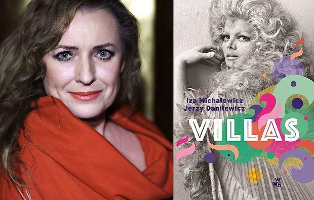Iza Michalewicz i okładka książki ''Villas'' (fot. Anna Gondek-Grodkiewicz)