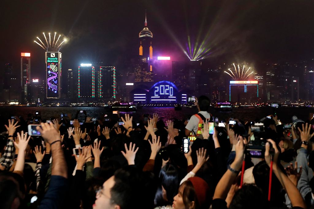 Sylwester i Nowy Rok w Hongkongu