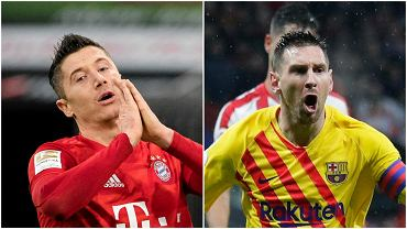 Robert Lewandowski i Lionel Messi