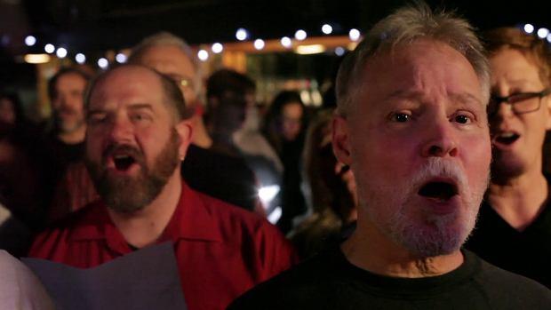 Choir! Choir! Choir! sings Elvis 'Suspicious Minds'