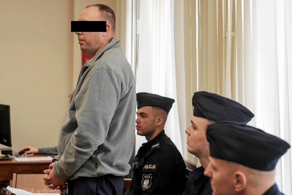 8 marca 2019 r. Proces Wojciecha S., oskarżonego o usiłowanie zabójstwa strażnika więziennego