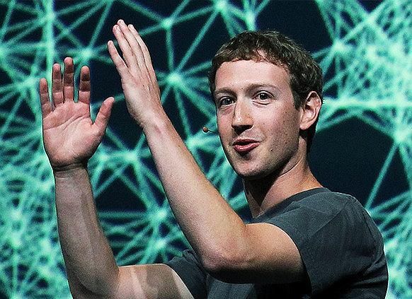 Mark Zuckerberg. Fot. Wikimedia Commons