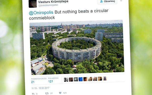 """26 wejść, 913 mieszkań i... niedoszła kariera olimpijska. Niewiele jest bloków tak niezwykłych jak """"Bublik"""""""