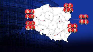 Zjednoczona Prawica vs Koalicja Europejska