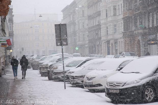 Atak zimy w Szczecinie
