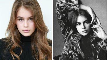 Kaia Gerber, córka Cindy Crawford - portfolio z agencji IMG