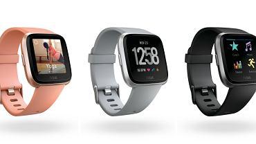 Fitbit Versa w 3 kolorach