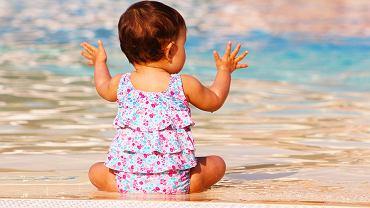 Pieluchy na basen są niezbędnym wyposażeniem. Zdjęcie ilustracyjne, pixabay.com
