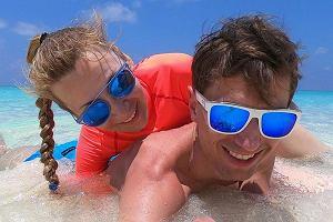 Ewa i Kamil Stoch na wakacjach