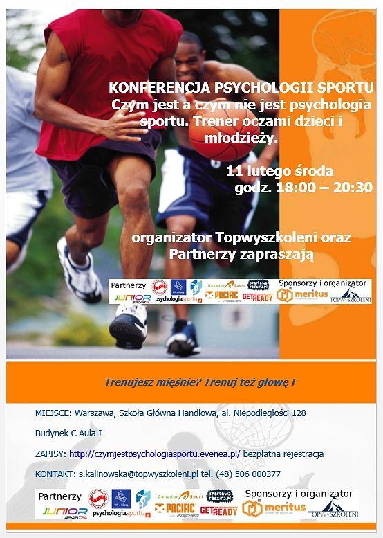 Konferencja Psychologii Sportu