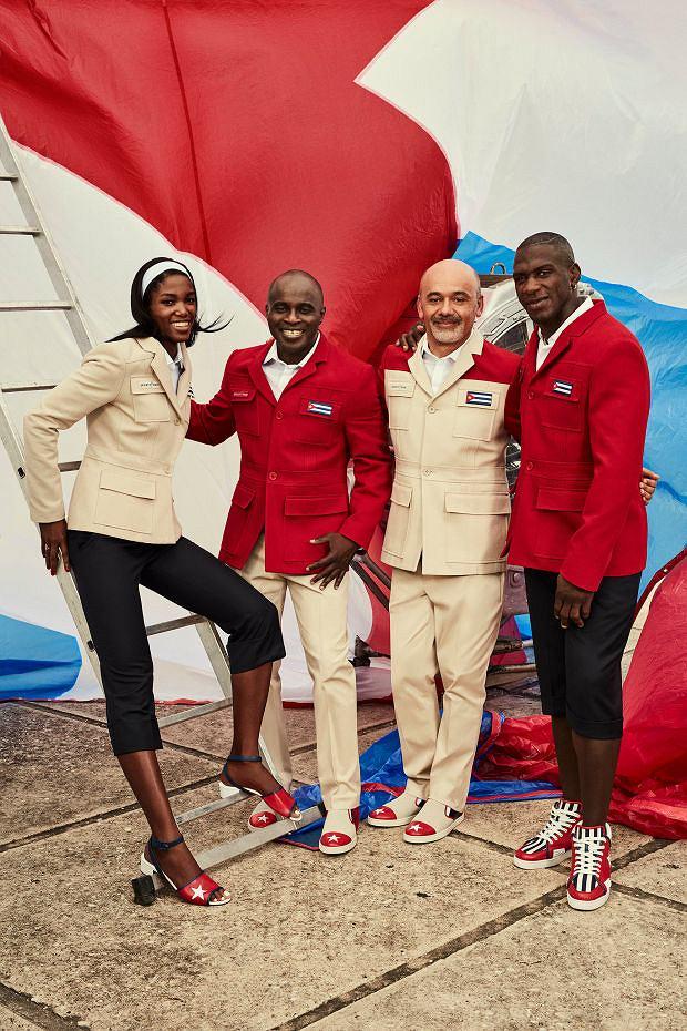 Stroje olimpijskie reprezentacji Kuby zaprojektował sam Christian Louboutin