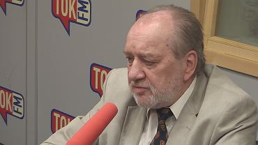 Sędzia Józef Iwulski w studiu TOK FM