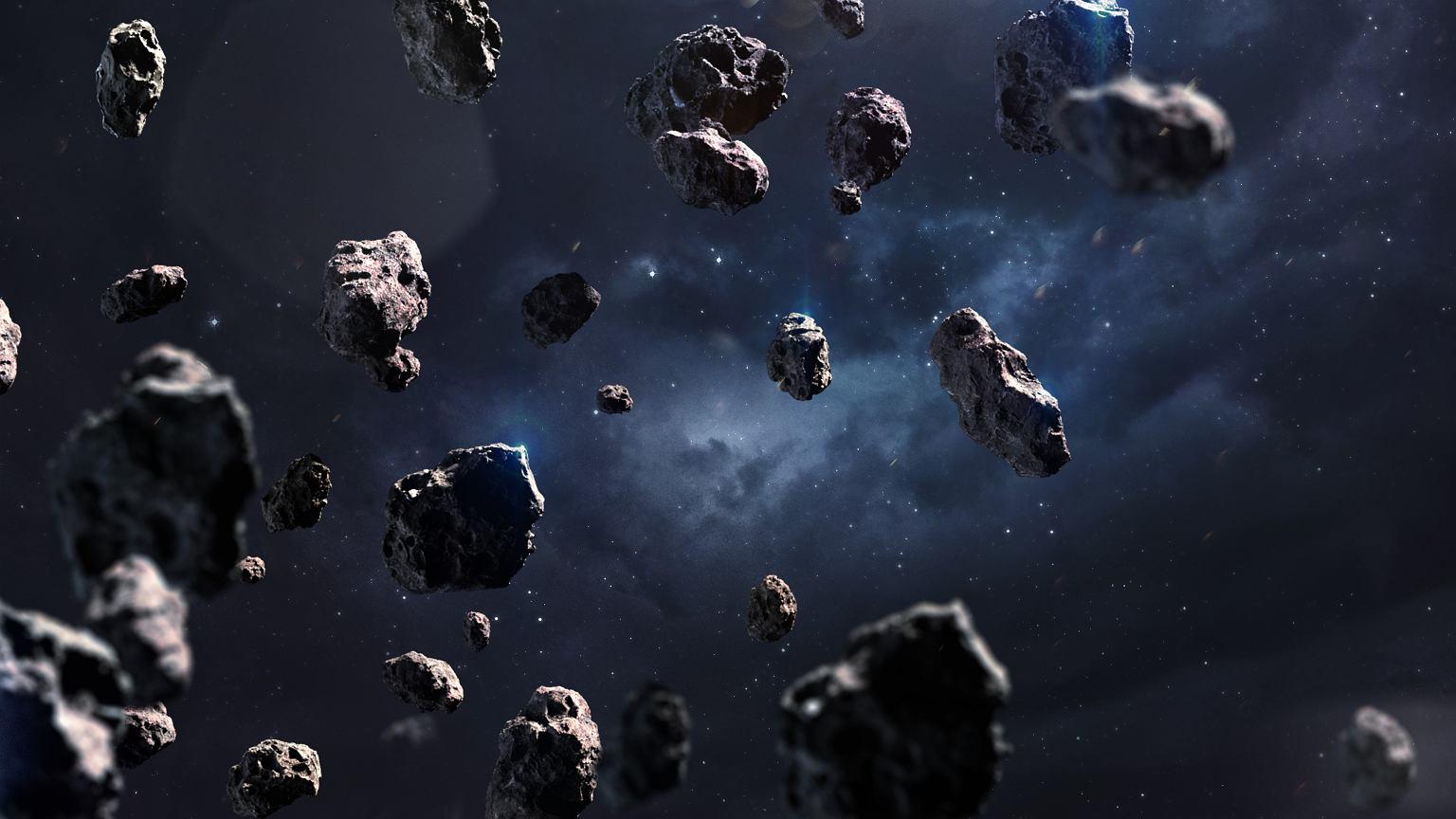 Z asteroid można pozyskać wszystko, co jest potrzebne do funkcjonowania kosmicznego osiedla