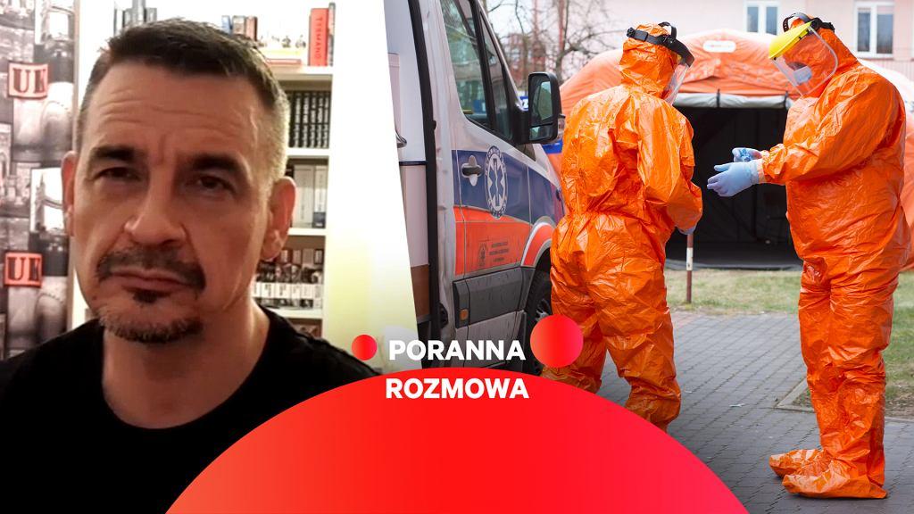 Ratownik medyczny Adam Piechnik gościem Porannej rozmowy Gazeta.pl (4.03)