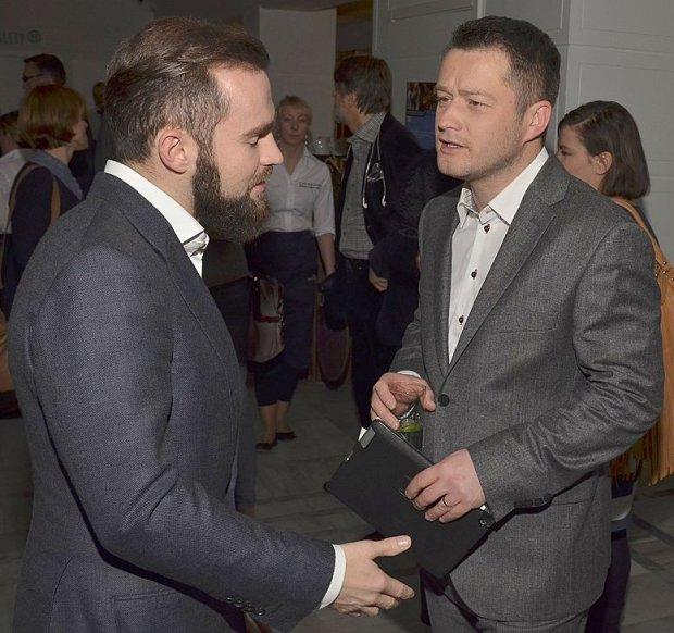 Sebastian Kulczyk i Jarosław Kuźniar