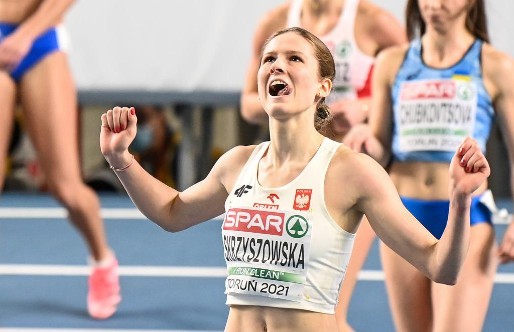 Pia Skrzyszowska podczas HME w Toruniu