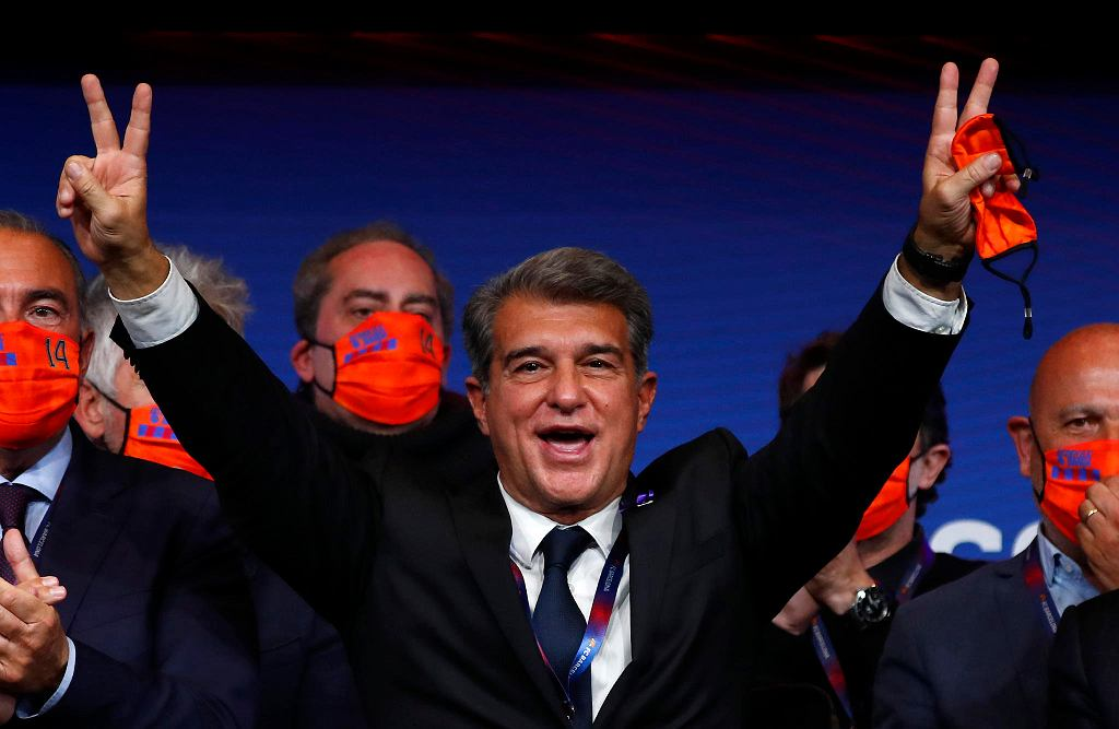 Joan Laporta, nowy stary prezes Barcelony