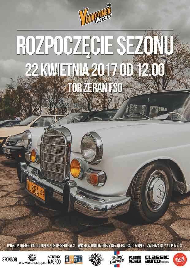 Youngtimer Warsaw 2017