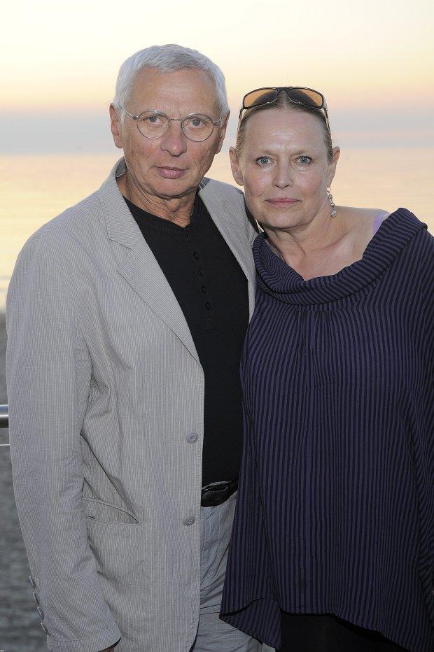 Mikołaj Grabowski z żoną Iwoną