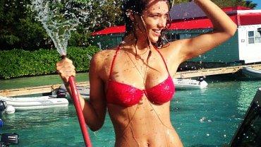 Hannah Ferguson opowiada o pracy modelki bikini
